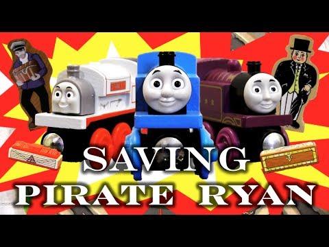 Saving Pirate Ryan | Thomas & Friends Wooden Railway Adventures Full Movie (2017)