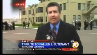 Body Of Slain Navy Lieutenant Returns To San Diego