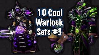 Jessiehealz - 10 Cool Warlock Transmog Sets #3 (World of Warcraft)
