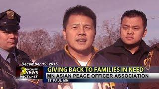 3HMONGTV NEWS: MN Asian Peace Officers Association gives back to families in need this Christmas.