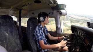 Solo Flight Circuits around Camden YSCN Cessna 172 GoPro Hero 3+