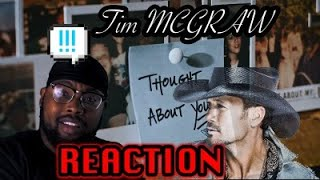 Tim McGraw   Thought About You (Audio)  | Reaction Video