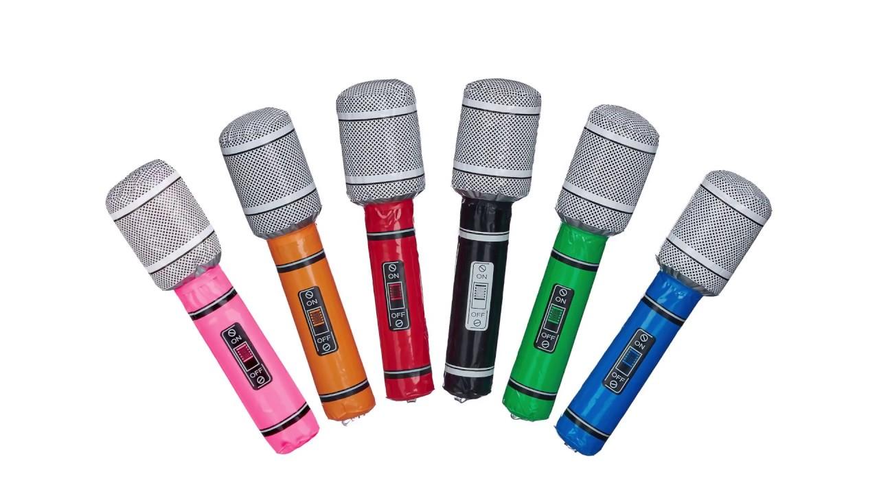 Video von: Aufblasbares Mikrofon