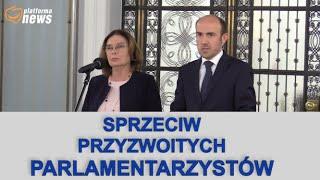Konferencja prasowa Małgorzaty Kidawy – Błońskiej i Borysa Budki