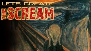 How To Draw The Scream By Edvard Munch