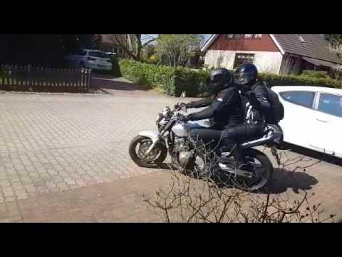Heyberry Frauen Motorrad Jacke, Hose und Handschuhe