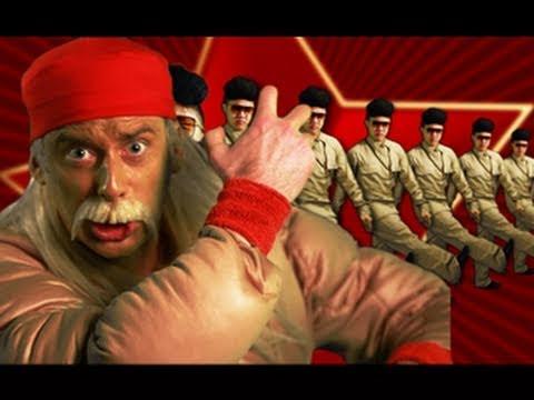 Hulk Hogan and Macho Man VS Kim Jong-il - Epic Rap Battles