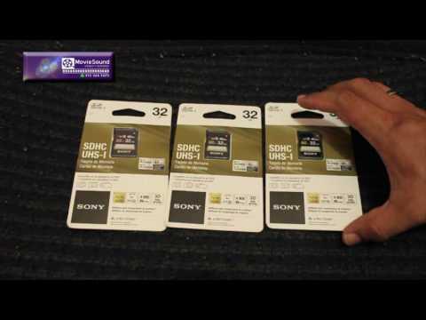 MEMORIA SONY SDHC – UHS-1 -32 GB - CLASE 10