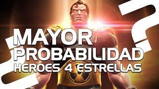 MAYOR PROBABILIDAD de Heroes de 4 Estrellas | Marvel Batalla de Superhéroes