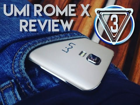 UMI ROME X en español, análisis de un smartphone low cost By T3cknotv