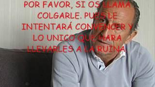 """JOSE ANTONIO MARTIN OTIN`PETÓN´ """"EL REPRESENTANTE ESTAFADOR DE FÚTBOL"""""""