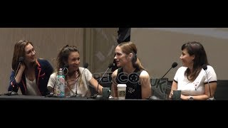 Melanie & Emily Panel And 2nd WayHaught Panel - EarperConUK 2018