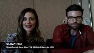 Phoebe Tonkin & Daniel Gillies THE ORIGINALS Interview Comic Con 2016
