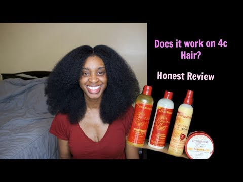 I tried the Creme of Nature Line and this is what happened to my hair| Livingwithosa