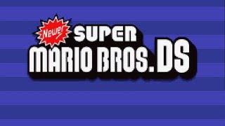 Newer Super Mario Bros. DS - World 1-8 Full Game (100%)