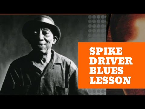 Mississippi John Hurt Guitar Lesson - Spike Driver Blues