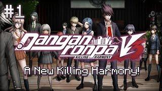 ❮Let's Play❯ Danganronpa v3: Killing Harmony [1] - A New Killing Harmony!