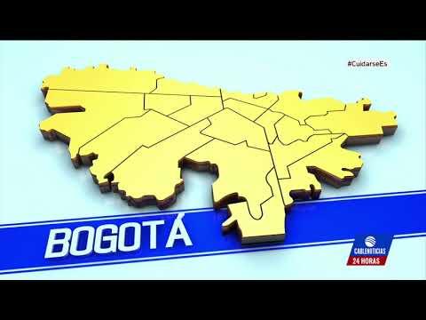 Seis localidades de Bogotá están en alerta naranja
