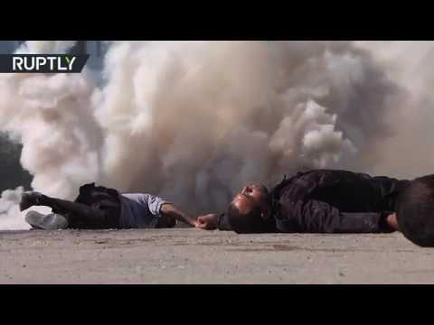It's not what you think it is: Gaza responds to attack in staged drills