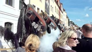 preview picture of video 'Altstadt  und Jakuby Fest in Görlitz Zgorzelec, Caballos de Menorca aus Barcelona'
