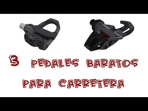 3 Pedales Baratos para Ciclismo de Carretera | Top Ciclismo