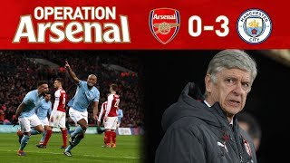 ARSENAL 0-3 MAN CITY - ENOUGH IS ENOUGH!