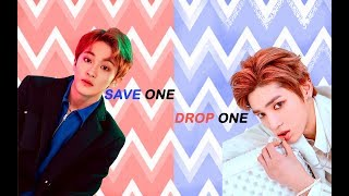 K POP SAVE ONE DROP ONE (BOY VER) #2 |KPOP GAME|