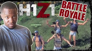 SQUUUUUAAAAAD! - H1Z1 Team Battle Royale Gameplay | H1Z1 Team BR 5 Person