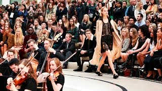 Highlights From The Burberry Womenswear SS16 Show