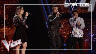 Luis Fonsi, María y Lion cantan 'Quisiera poder olvidarme de ti' | Directos | La Voz Antena 3 2019