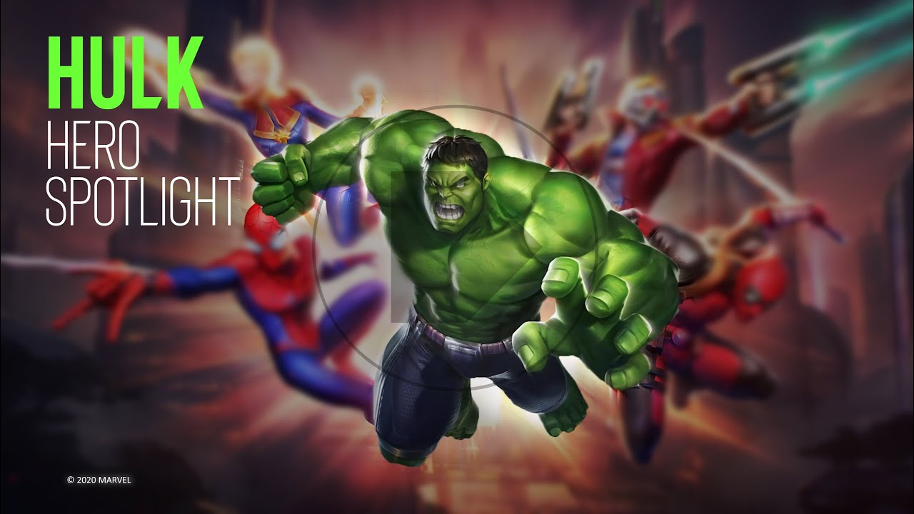 Hulk Hero Spotlight video for MARVEL Super War created by ESL Australia