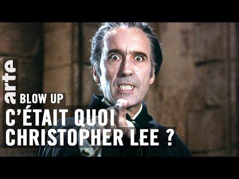 C'était quoi Christopher Lee ? - Blow Up - ARTE
