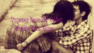Sixpence None The Richer - Breathe Your Name HQ