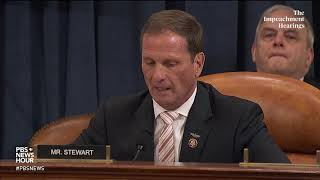 WATCH: Rep. Stewart urges Senate to 'get to the truth' in impeachment hearing