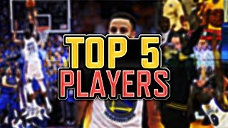 TOP 5 NBA PLAYERS RIGHT NOW