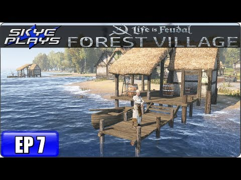 Life Is Feudal Forest Village Let's Play / Gameplay – Ep 7 – Medieval City Building Simulation Game