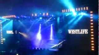 Westlife - Leaving the stage for the very last time - Croke Park 23.06.2012