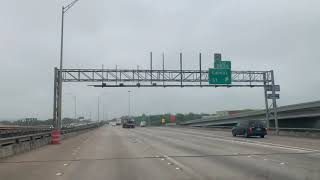 🔴 Подъезд к Dallas Texas USA 🔴 путешествие по штатам США на авто  10.04.2019
