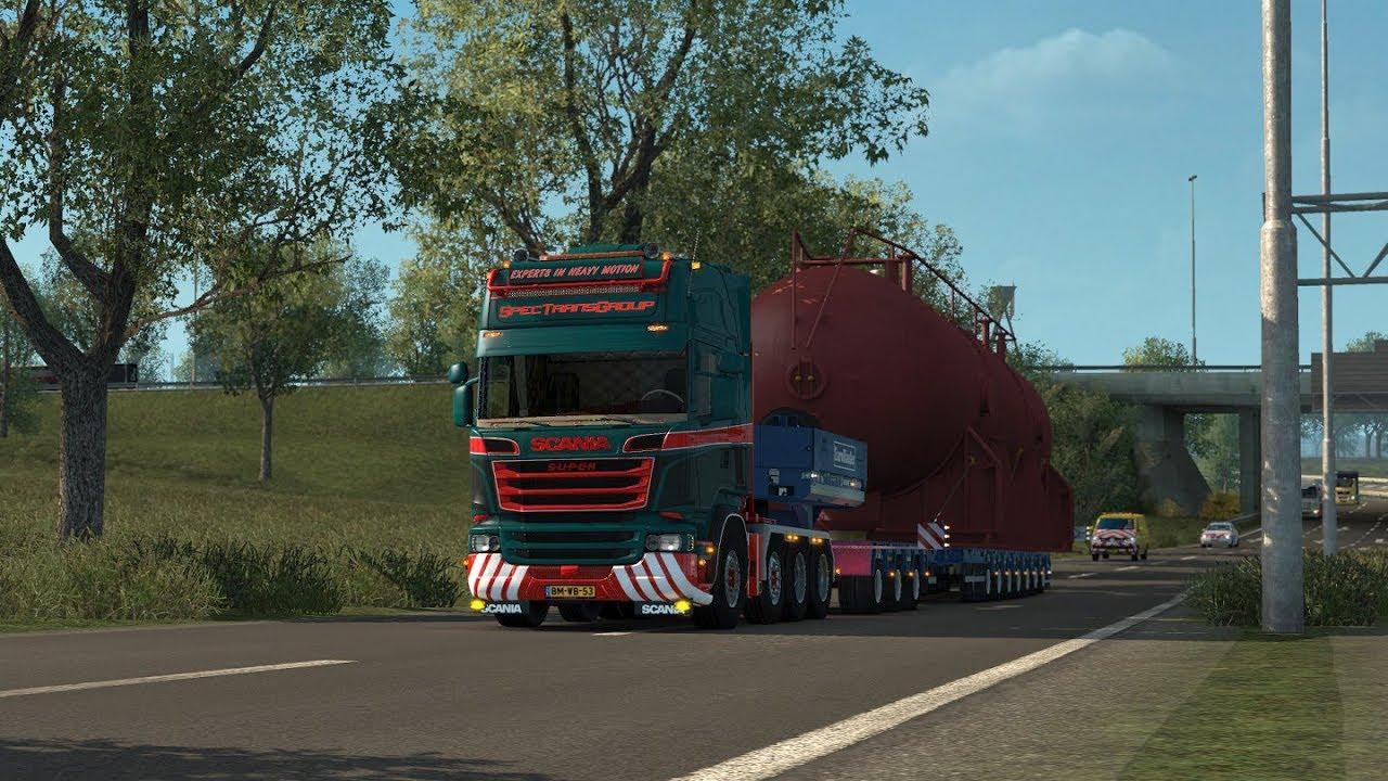 Scania V8 Sound Mod v 10 5 mod for ETS 2
