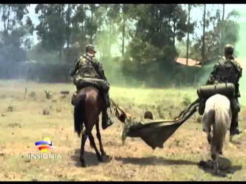 Novedoso reentrenamiento de los soldados de los batallones de caballería
