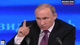 Ораторское мастерство Путина: ответ на неудобный вопрос