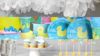 DIY Ducky Baby Shower Decorating Ideas