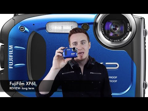 FujiFilm Finepix XP60 XP61 REVIEW - long term