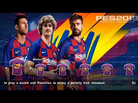 PES 2019 PPSSPP   JOGRESS V4 1 CAMERA PS4   NEW TEXTURES SAVEDATA