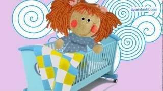Tengo una muñeca vestida de azul. Canción infantil, música para niños