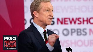 Tom Steyer says he is 'leading the charge' on climate change
