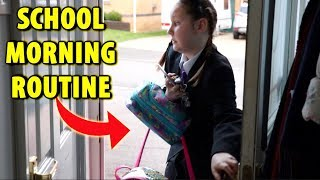 SCHOOL MORNING ROUTINE 2018!!! Ruby Rube
