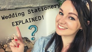 CONFUSED about WEDDING Stationery!? | Saves the dates, Invitations & RSVPS EXPLAINED!