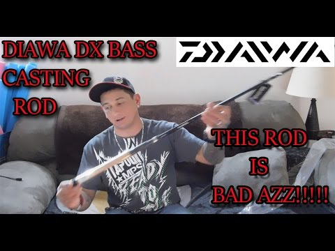 "DAIWA DX BASS CASTING ROD ""REVIEW"" {BEST FISHING ROD for $90}"