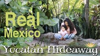 Vacation Bliss in Yucatan for Mom and Toddler